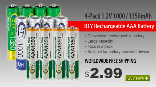 AAA Rechargeable Ni-MH Battery Pack